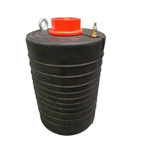 """Sava S6/8 6"""" to 8"""" Multi-size Commercial Series Inflatable Pipe Plug with 1 in. Bypass"""