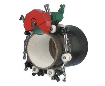 "CS Unitec 4 hp Pneumatic Pipe Cutting Machine 16"" Kit"