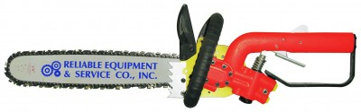 Reliable Equipment REL-CS16 Underwater Hydraulic Chainsaw (Includes Hose Whips and Couplers)