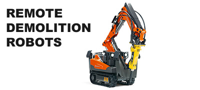 Rental Tools Online | Remote Demolition Robots